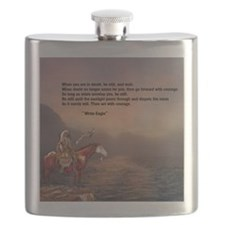 Go Forward With Courage Flask