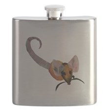 Stenciled Rat Flask