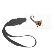 Stenciled Rat Luggage Tag