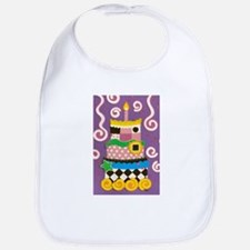 Clown Cake Bib