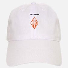 Fort Gordon with Text Baseball Baseball Cap