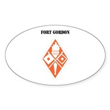 Fort Gordon with Text Decal