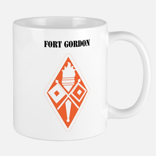 Fort Gordon with Text Mug