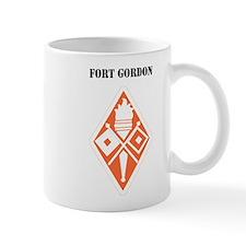 Fort Gordon with Text Small Mug