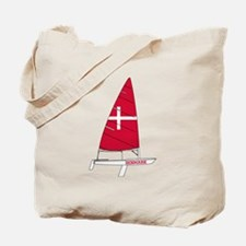 Denmark Dinghy Sailing Tote Bag