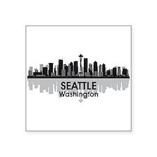 """Seattle Square Sticker 3"""" x 3"""""""