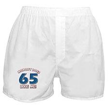 Nobody does 65 like me Boxer Shorts