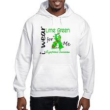 I Wear Lime 43 Lymphoma Jumper Hoody