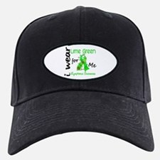 I Wear Lime 43 Lymphoma Baseball Hat