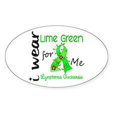 I Wear Lime 43 Lymphoma Decal
