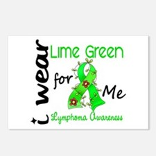 I Wear Lime 43 Lymphoma Postcards (Package of 8)
