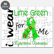 I Wear Lime 43 Lymphoma Puzzle