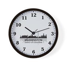 Washington Skyline Wall Clock