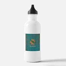 Vintage Oklahoma Flag Water Bottle