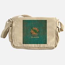 Vintage Oklahoma Flag Messenger Bag