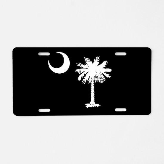 SC Palmetto Moon Aluminum License Plate