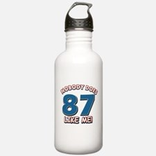 Nobody does 87 like me Water Bottle