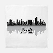 Tulsa Skyline Queen Duvet