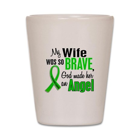 Angel 1 NH Lymphoma Shot Glass