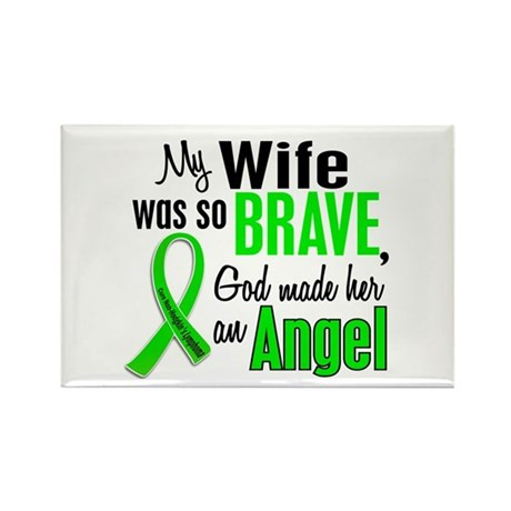 Angel 1 NH Lymphoma Rectangle Magnet (10 pack)