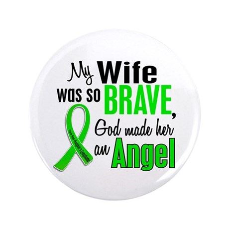 "Angel 1 NH Lymphoma 3.5"" Button (100 pack)"