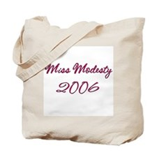 Miss Modesty Tote Bag
