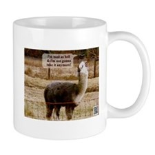 Mad as Hell Drama Llama Mug