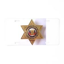 Security7StarBadge.jpg Aluminum License Plate