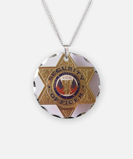 Security7StarBadge.jpg Necklace