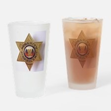 Security7StarBadge.jpg Drinking Glass