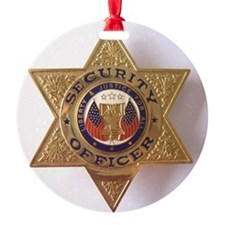 Security7StarBadge.jpg Ornament