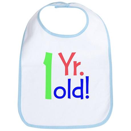 1year old birthday party ts Bib