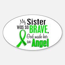 Angel 1 NH Lymphoma Sticker (Oval)