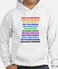 DIALYSIS 12 DAYS OF CHRISTMAS.PNG Hoodie