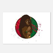 Rasta Girl Postcards (Package of 8)