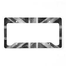 License Plate Holder Grey