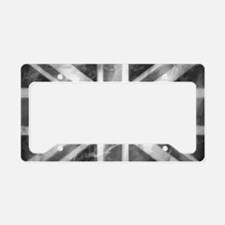 License Plate Holder Grey