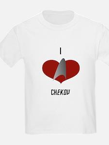 I Love Chekov T-Shirt