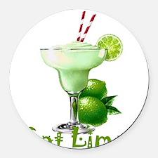 Got Lime? Round Car Magnet