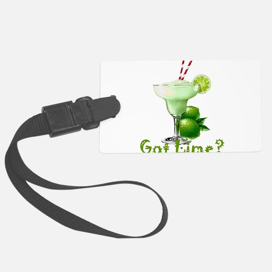 Got Lime? Luggage Tag