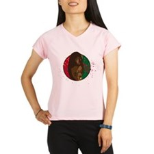 Rasta Girl Performance Dry T-Shirt