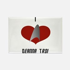 I Love Deanna Troi Rectangle Magnet