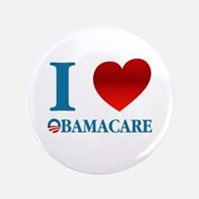 "I Love Obamacare 3.5"" Button"