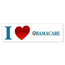 I Love Obamacare Bumper Sticker