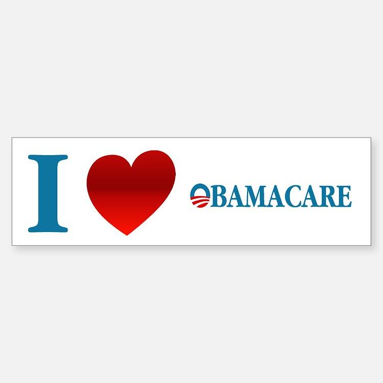 I Love Obamacare Bumper Bumper Sticker