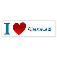 I Love Obamacare Car Sticker