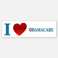 I Love Obamacare Sticker (Bumper)