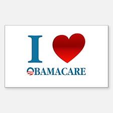 I Love Obamacare Decal