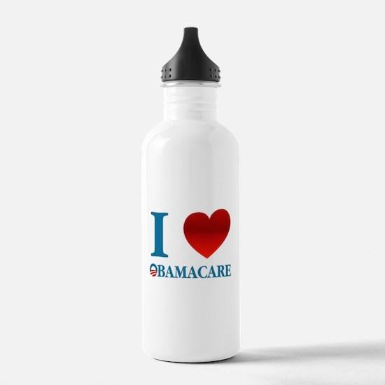 I Love Obamacare Sports Water Bottle