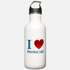 I Love Obamacare Water Bottle